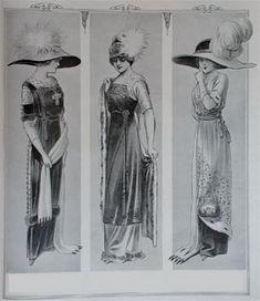 Abiti Antichi - Storia della Moda 1910-1914