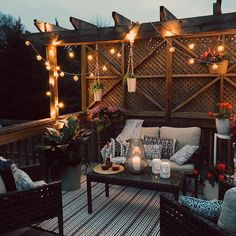 clever diy patio ideas for the outdoors 60 Home Design, Patio Design, Design Ideas, Outdoor Deck Lighting, Outdoor Decor, Pergola Lighting, Outdoor Furniture, Exterior Lighting, Outdoor Spaces