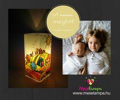 Meselámpa – gyereklámpa, éjszakai fény, éjjeli fény | Dimb-domb meselámpa