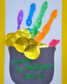 First Grade St. Patrick's Day Activities: Irish Pot of Gold March Crafts, Spring Crafts, Holiday Crafts, Holiday Fun, Holiday Ideas, St Paddys Day, St Patricks Day, St Pattys, Saint Patricks