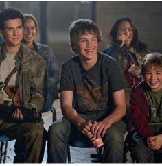 You know this could almost look like the gang but they are all so very happy. I need to think of a reason they are happy