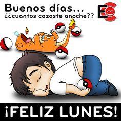 ¡Estas enganchado al #PokemonGO, no mientas! ;) #FelizLunes