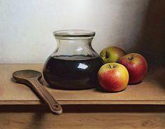 Painting: Stilleven met strooppot