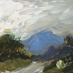 Love this by Irish landscape painter Melita Denaro Irish Landscape, Abstract Landscape, Landscape Paintings, Landscapes, Abstract Art, Awesome Art, Cool Art, Ireland, Clouds