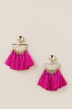 Kennedy Fringe Earrings