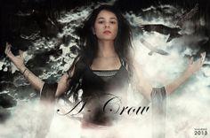 A-Crow : chanteuse de rock symphonique