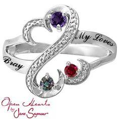 Kay Mothers Hearrt Ring