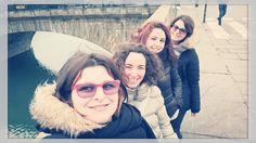 Selfie sul Po' #sopravvisute #semafororosso