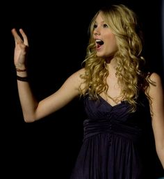 Pin for Later: Surprise — It's Taylor Swift's Birthday!  She waved to fans during the CMA Music Festival in June 2008.