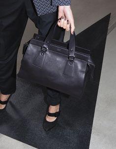 #GiorgioArmani pants, shoes and Le Sac 11 bag