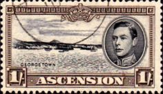 Ascension 1938 George VI SG 44 Fine Used SG 44a Scott 46 George Town Other Ascension Island Stamps HERE