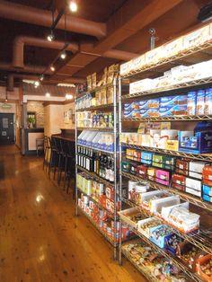 Interior of Parisi, in Denver's Berkeley neighborhood.  Restaurant and Italian Deli.  Delish!