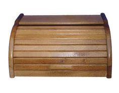 Chlebak drewniany duży dąb
