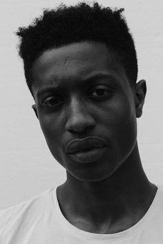 """black-boys: """"  Jeremy Boateng by Jay Stewart """""""