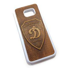 Чехол для Galaxy S7 Edge из дерева кусия, ручная работа, Динамо