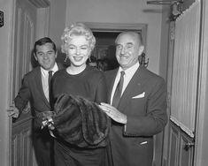 Marilyn Monroe-Milton Greene-Jack Warner