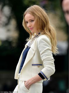 Kate Bosworth- love her hair color