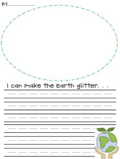 For Earth day I created this writing activity. I made two different versions and included a poem to glue into their poetry journal. Click th...
