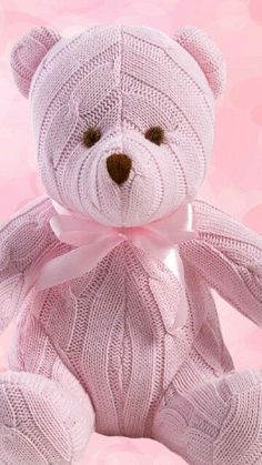 teddy, ours, rose pink