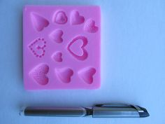 Hey, I found this really awesome Etsy listing at https://www.etsy.com/listing/197702012/polymer-clay-silicon-mold-silicone