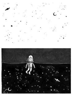 Estamos en medio,donde parece que no hay nada que brille por nosotros.