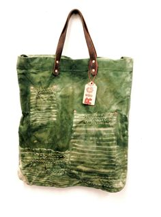 Olive Market Tote — Rigg - Handmade Bags, Textiles & More