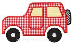 Jeep Applique Design