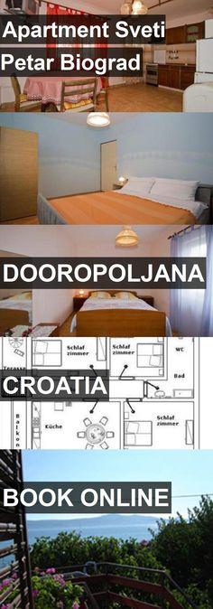 Apartment Sveti Petar Biograd in Dooropoljana, Croatia. For more information, photos, reviews and best prices please follow the link. #Croatia #Dooropoljana #travel #vacation #apartment