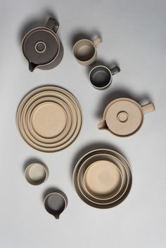 Hasami porcelain is characterized by simple forms and clean lines that are modern yet largely influenced by traditional Japanese pottery. Items easily stack together for storage or transport.
