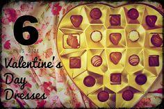 6 Valentine's Day Dresses (Plus Size)   http://www.thecurvyelle.com/2014/02/6-valentines-day-dresses-plus-size.html