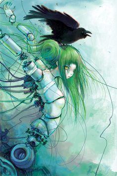 Camilla d'Errico's Dark Horse Myspace Presents cover