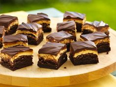 Traditional Peanut Butter Truffle Brownies. Always a big hit! Yummy!