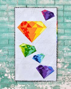 electric diamond paper pieced free pdf