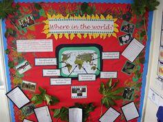 Rainforests - locations