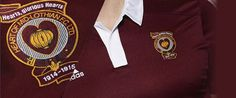 A special commemorative strip was worn during the 2014-15 football season by Scottish championship side Heart of Midlothian. The strip is a modern adaptation of the one worn by the team of 1914 – 15. Out of the 16 players that enlisted with the British Army, 7 paid the ultimate price.
