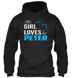 Love PETER - Name Shirts #Peter