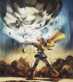 Isaac using Lift psynergy - Golden Sun Classical Elements, Golden Sun, Boy Meets, Super Smash Bros, Geek Stuff, Earth, Magic, Fan Art, Comics