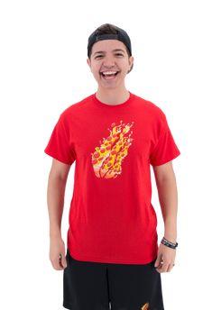 Preston's Stylez - Pizza Tee (PRE-ORDER) – PrestonsStylez Preston Playz, Red Pizza, Inside Out, Tee Design, Minecraft Wallpaper, Cotton Tee, Size Chart, Hoodies, Tees