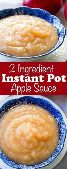 A while back I shared our 2 ingredient instant pot applesauce recipe on an instagram story and now I'm sharing it here along with how to can applesauce. via @ohsweetbasil