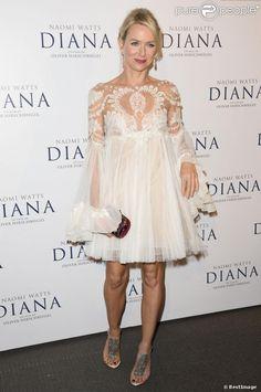 Naomi Watts à présentation de  Diana  à l'UGC Normandie sur les Champs-Elysées.