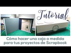 Cómo hacer una caja para tus proyectos de Scrapbook - YouTube Mini Albums Scrapbook, Diy And Crafts, Paper Crafts, Scrapbooks, Toy Chest, Youtube, Videos, Dyi, Making Books