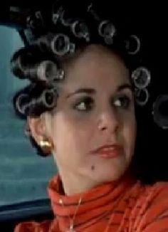Sleep In Hair Rollers, Roller Set, Curlers, Dreadlocks, Hair Styles, Sexy, Beauty, Rollers In Hair, Hair Plait Styles
