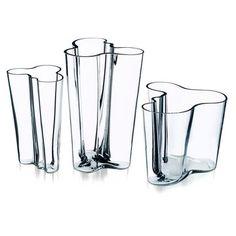 finnish design - vases   I love mine.