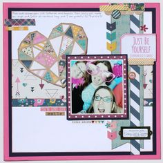 Scrappy Chick Designs Simple Stories- So Fancy Collection Scrapbook Scrapbooking Papercrafting