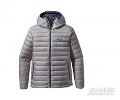 Patagonia Mens Down Sweater Hoody Feather Grey