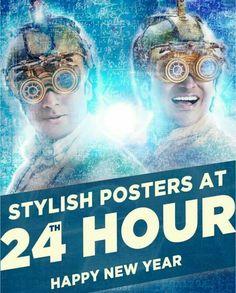 2 new posters of #24TheMovie to be revealed @24:00.   #suriya #Surya #24Movie