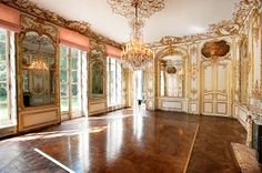 Hôtel de Soyecourt or Pozzo di Borgo, an hôtel particulier at 51, rue de l'Université, Paris. It was built in 1708.  The mansion is one of Paris' most exceptional properties, on a similar level with the hotel de Sully, the Rodin and Jaquemart-André museums.  Now on the market, most recently, a great part of the reception apartments had been rented to Karl Lagerfeld, who made it its private address for 27 years.
