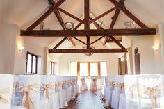 Bordesley Park Wedding Venue Ceremony Barn
