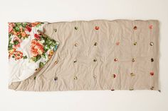 Make This Anthropologie Sleeping Bag for Your Next Sleepover via Brit + Co.