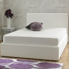 Stirling Ottoman Ice White
